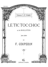 François Couperin - Tic-Toc-Choc Or Swimsuits - Sheet Music - di-arezzo.com