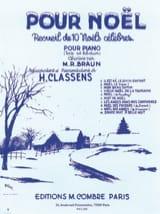 Pour Noël Partition Piano - laflutedepan.com