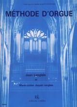 Langlais Jean / Langlais-Jaquet - Méthode D'orgue - Partition - di-arezzo.fr