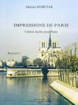 Impressions de Paris Volume 1 Marian Marciak Partition laflutedepan