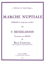 MENDELSSOHN - Bridal Walk - Sheet Music - di-arezzo.co.uk