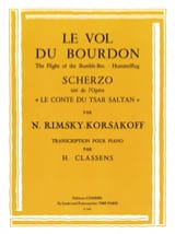 Le Vol Du Bourdon RIMSKY-KORSAKOV Partition Piano - laflutedepan