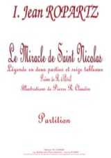 Guy Ropartz - The Miracle of Saint Nicolas - Sheet Music - di-arezzo.co.uk