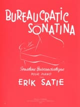 Sonatine Bureaucratique Erik Satie Partition Piano - laflutedepan.com