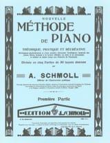 Nouvelle Méthode De Piano Volume 1 Anton Schmoll laflutedepan