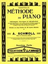Nouvelle Méthode De Piano Volume 2 Anton Schmoll laflutedepan