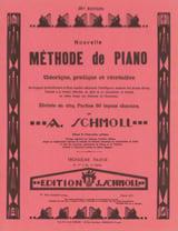 Nouvelle Méthode De Piano Volume 3 Anton Schmoll laflutedepan