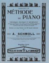 Nouvelle Méthode De Piano Volume 4 Anton Schmoll laflutedepan