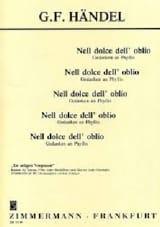 Georg-Friedrich Haendel - Nell dolce dell'oblio - Partition - di-arezzo.fr