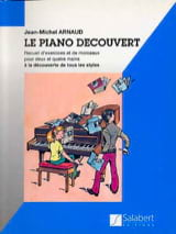 Piano découvert - Jean-Michel Arnaud - Partition - laflutedepan.com
