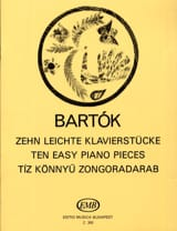 10 Leichte Klavierstücke Bela Bartok Partition laflutedepan.com
