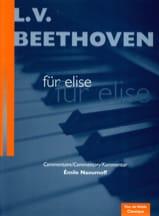 Lettre A Elise. Für Elise Ludwig van Beethoven laflutedepan.com