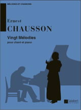 Ernest Chausson - 20 Melodies - Sheet Music - di-arezzo.co.uk