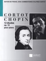 12 Etudes Opus 10 CHOPIN Partition Piano - laflutedepan.com