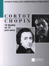 12 Etudes Opus 25 - Frédéric Chopin - Partition - laflutedepan.com