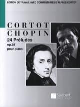 24 Préludes Opus 28 CHOPIN Partition Piano - laflutedepan.com