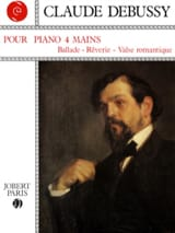 Pour Piano. 4 Mains DEBUSSY Partition Piano - laflutedepan