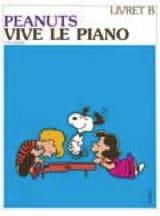 Peanuts Vive le Piano - Livret B Edison Partition laflutedepan.com