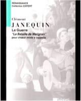 Clément Janequin - La Bataille de Marignan - Partition - di-arezzo.fr