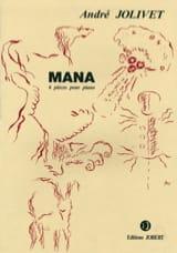 André Jolivet - Mana - Partition - di-arezzo.fr