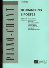 Joseph Kosma - 10 Songs, 8 Poets - Sheet Music - di-arezzo.co.uk
