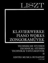 Etudes Techniques Volume 2 Franz Liszt Partition laflutedepan.com