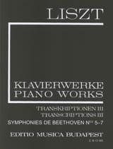 Liszt Franz / Beethoven Ludwig van - Symphonies N° 5 à 7 (Série 2, Volume 18) - Partition - di-arezzo.fr