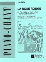 André Messager - The Red Rose. Mr. Beaucaire - Sheet Music - di-arezzo.co.uk