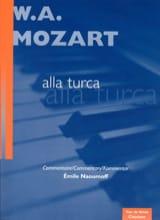 Marche Turque de la Sonate K 331 MOZART Partition laflutedepan.com