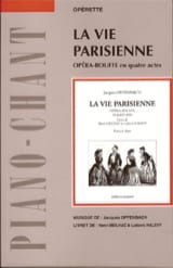 La Vie Parisienne OFFENBACH Partition Opéras - laflutedepan