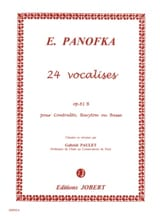 Heinrich Panofka - 24 Vocalises Progressives, Opus 81b N° 2 - Partition - di-arezzo.fr
