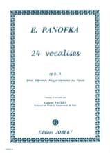 24 Vocalises Progressives, Opus 81a Volume 1 - laflutedepan.com