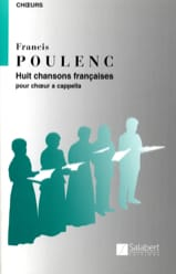Francis Poulenc - 8 French songs. - Sheet Music - di-arezzo.co.uk