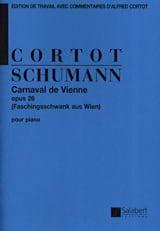 Robert Schumann - Vienna Carnival Opus 26 - Sheet Music - di-arezzo.com