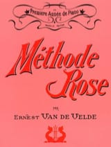 Méthode Rose VAN DE VELDE Partition Piano - laflutedepan.com