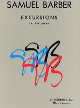 Excursions - Samuel Barber - Partition - Piano - laflutedepan.com