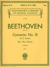 Concerto pour piano n° 3 en ut mineur Opus 37 laflutedepan.com