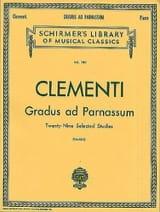 Gradus Ad Parnassum Muzio Clementi Partition Piano - laflutedepan.com