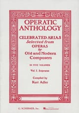 Operatic Anthology Volume 1 Soprano Partition laflutedepan.com