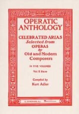 - Operatic Anthology Volume 5 Bass - Sheet Music - di-arezzo.com