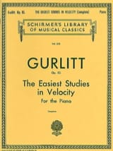 Cornelius Gurlitt - Estudios más fáciles en la velocidad Op. 83 - Partitura - di-arezzo.es