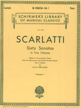 Domenico Scarlatti - 60 Sonatas. Volume 1 - Sheet Music - di-arezzo.com