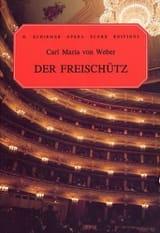 Der Freischutz Carl Maria von Weber Partition laflutedepan.com