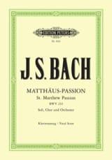 Passion selon Saint Matthieu - BWV 244 - laflutedepan.com