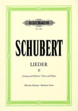 SCHUBERT - Lieder Volume 2 - Average Voice - Sheet Music - di-arezzo.co.uk