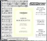 SCHUBERT - Lieder Der Romantik. Serious Voice CD - Sheet Music - di-arezzo.com