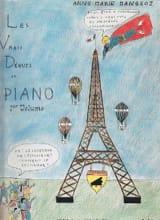 A-M Mangeot - Vrais Débuts Du Piano Vol 1. - Partition - di-arezzo.fr