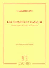 Francis Poulenc - The paths of love - Sheet Music - di-arezzo.co.uk
