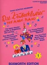 Das Zauberklavier 1. 4 Mains Hans-Günter Heumann laflutedepan