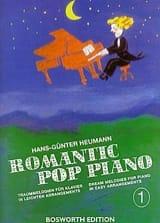 Romantic Pop Piano 1 Hans-Günter Heumann Partition laflutedepan